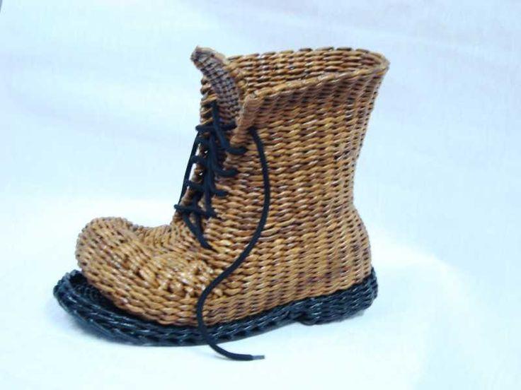 Тема: плетенки от марины (29/53) - Плетение из газет и другие рукоделия - Плетение из газет