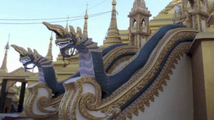 Video of Monywa Standing Buddha, Myanmar (Burma)