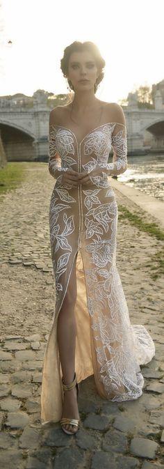 Vestido de noiva renda.