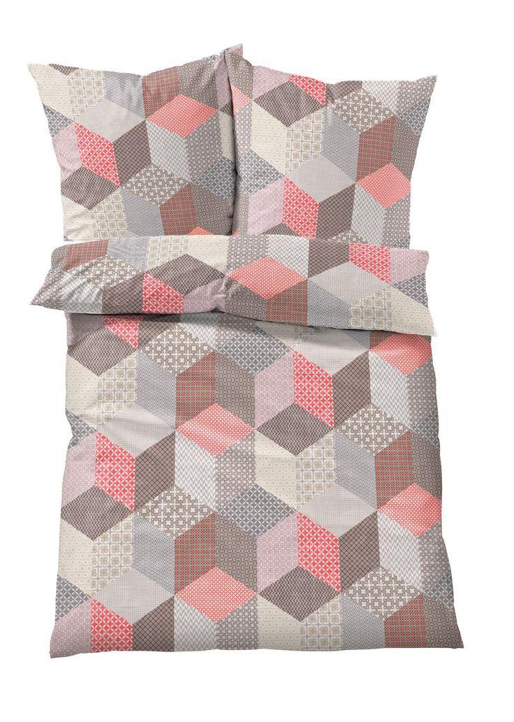 Красивое постельное белье в модном стиле ретро с трехмерным принтом кубов различных расцветок. Заказывайте стандартный размер или комплект из четырех изделий.