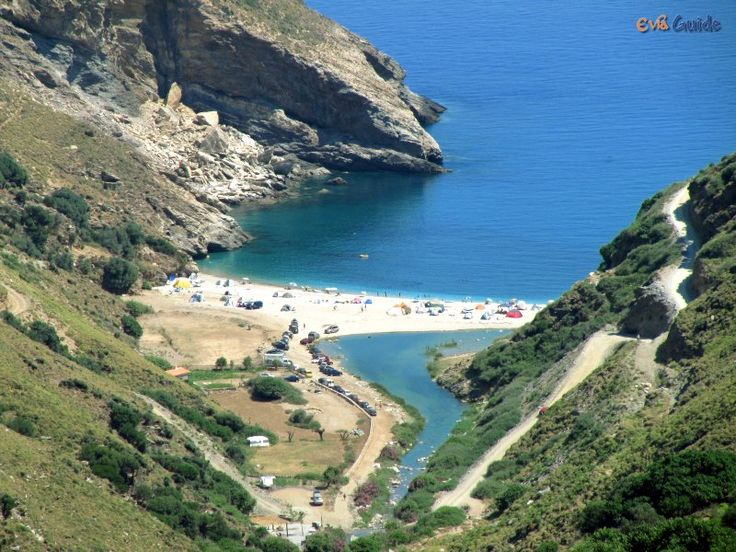 Agios Dimitrios Beach in the South of Evia