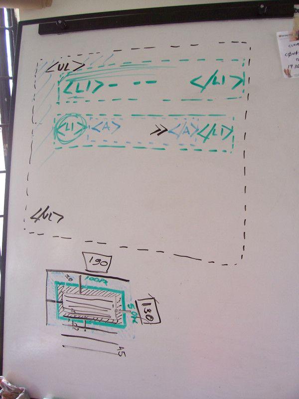 Clase de Menus CSS3 y posicionado de elementos en HTML5