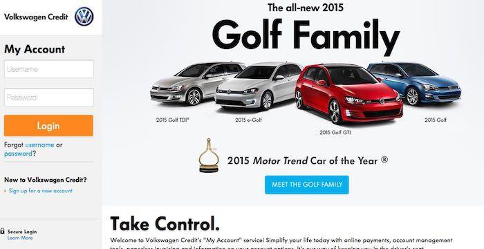 VW Credit Sign In Sign Ins Pinterest Vw Credit And Volkswagen - Volkswagen credit login