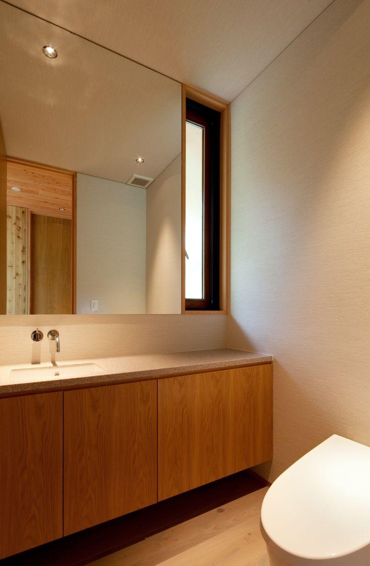 トイレ/バス事例:洗面所(千ヶ滝山荘)