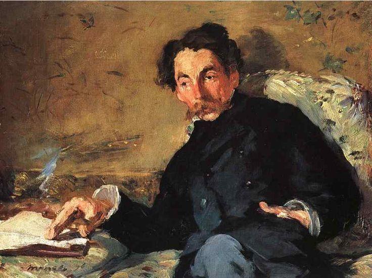 édouard Manet - Portrait de Mallarmé