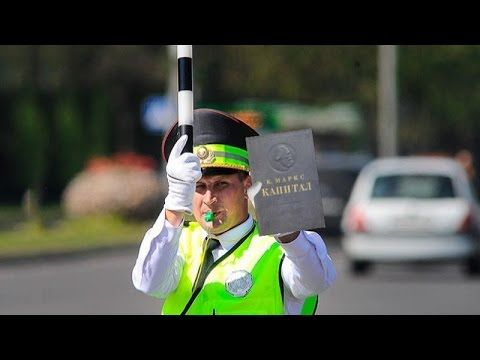 Карл Маркс и ДПС #Анекдоты про Гаишников #Karl Marx and traffic police