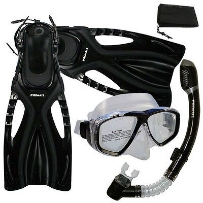 #Snorkeling dive mask dry #snorkel fins gear #package set,  View more on the LINK: http://www.zeppy.io/product/gb/2/371606561158/