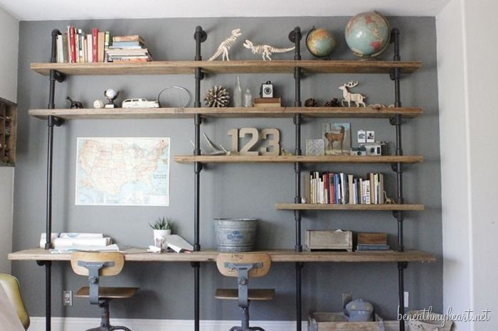 A Great Collection of 20 Shelves You Can Easily DIY  - Book Local Plumbers --> https://SnipTask.com