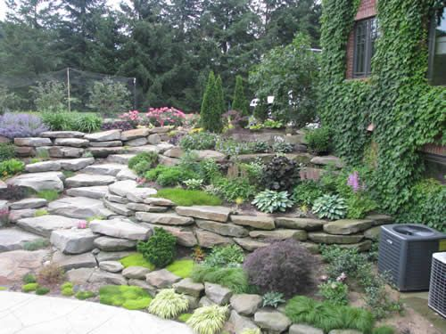 1000+ images about Home Girl: Tiered/Terraced Landscaping ... on Tiered Yard Landscaping id=13179