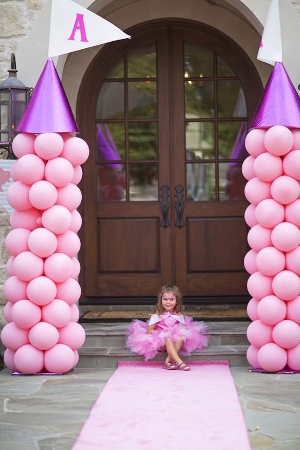 blog vittamina decoração aniversário infantil party decor kids princess aniversario de princesa ideias para aniversario de menina aniversario em casa bolo de princesa arco de balões