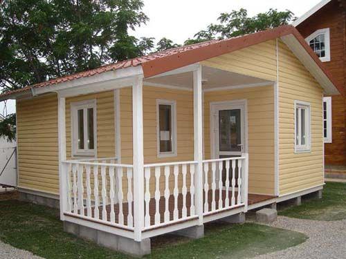 Casa de exposicion a estrenar ofertas casas de madera for Casas prefabricadas pequenas