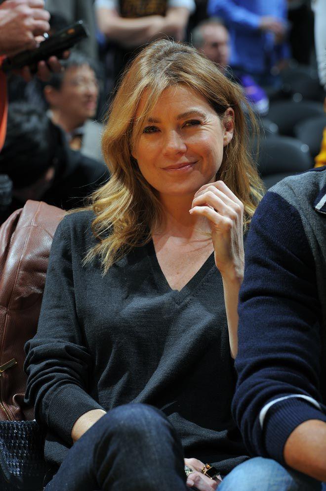 Ellen Pompeo, la doctora Grey en la serie Anatomía de Grey, no se perdió el Lakers-Heat... ¿Qué le pasa a los Lakers doctora?