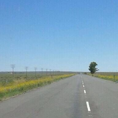 Long open roads. Quiet and peaceful