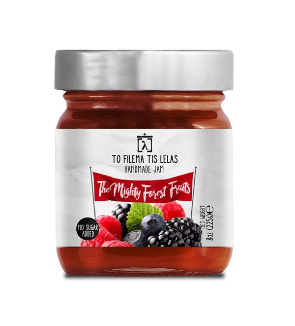 TO FILEMA TIS LELAS - HANDMADE FOREST FRUITS JAM