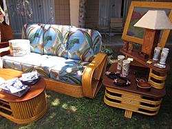 Tiki Furniture, Tiki Oasis, San Diego