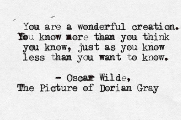 an introduction to the novel dorian gray by oscar wilde Buy the picture of dorian gray by oscar wilde from whsmith today, saving 35 %  condemning the novels immorality, and the introduction to the first penguin .