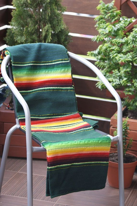 VINTAGE Polish Kilim Handwoven Kilim/Blanket by AandRstudio