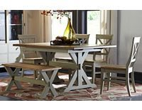 Dining/Kitchen Furniture, Cape May Trestle Table, Dining/Kitchen Furniture    Havertys