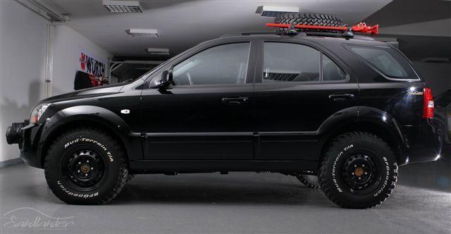 kia sorento off road   Image KIA Sorento EX - Sandlander
