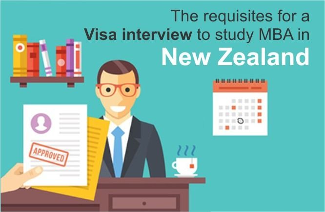 The Requisites For A Visa Interview To Study Mba In New Zealand