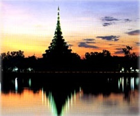 """Khon Kaen, Thailand. I lived here long ago, with my family. My father was a professor who helped get the University of Khon Kaen up and running.  Khon Kaen, in the village of Mordindang. Mordindang means """"red earth"""""""