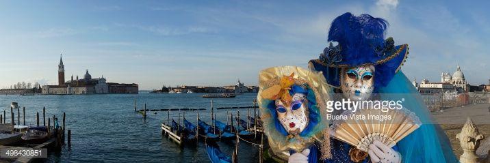 Stock Photo : Carnival Mask in St. Mark Square