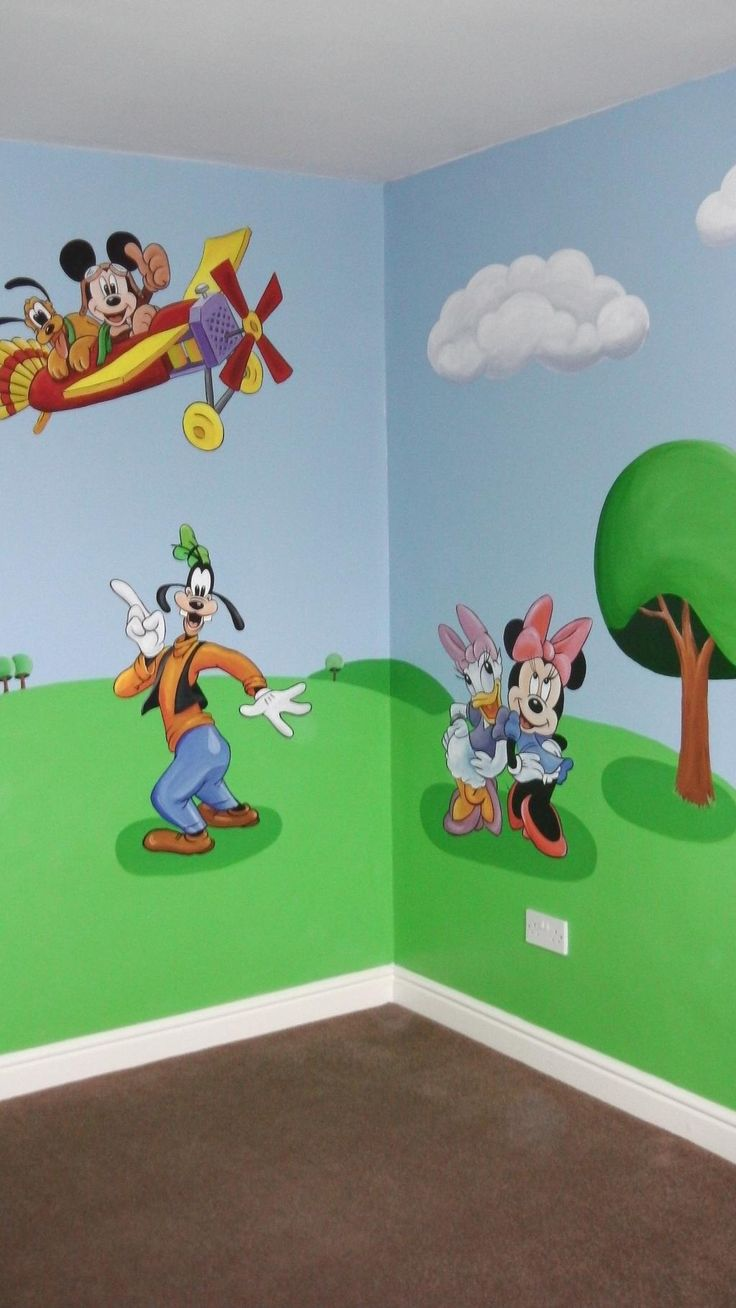 174 best custom murals images on pinterest murals nurseries and mickey mouse mural custommurals amipublicfo Image collections