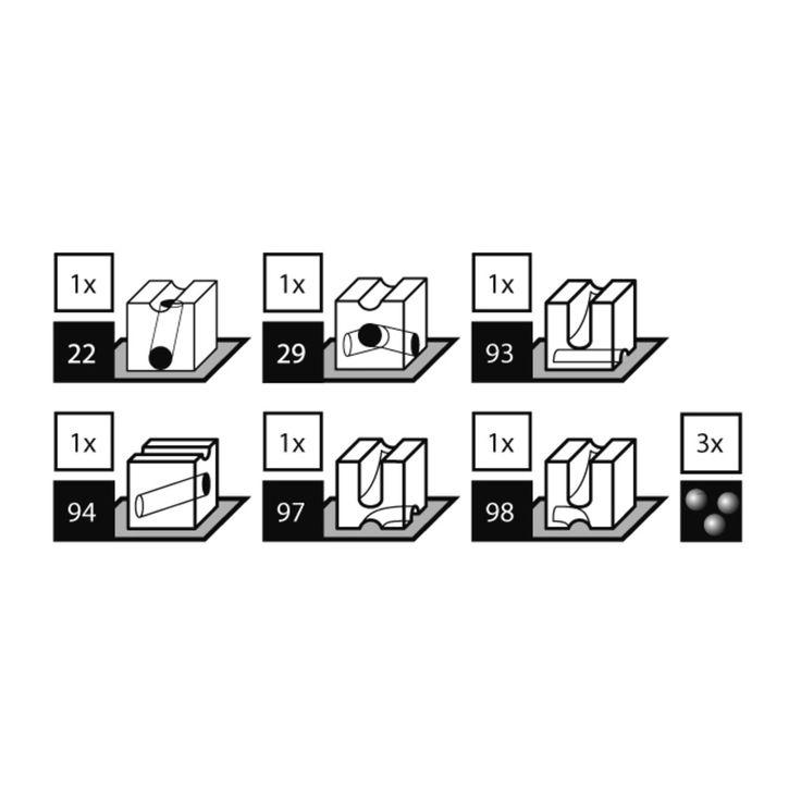 Cuboro - Sixpack Zusatzkästen