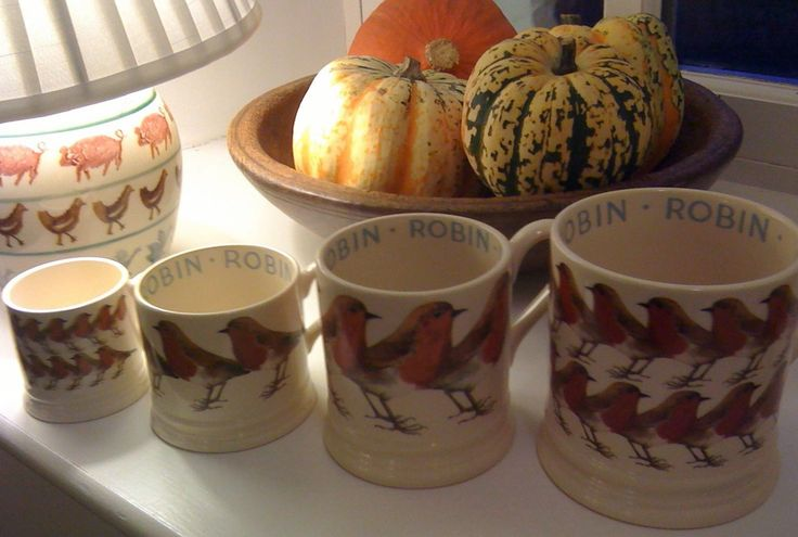 Emma Bridgewater Robin Collection