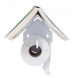 Cadeau Porte papier Toilette et son support de livre