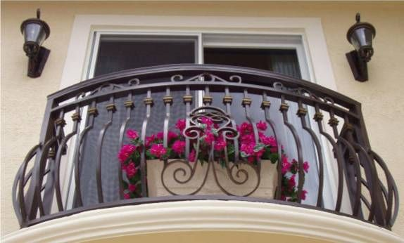 Wrought Iron Decoration Beautify Your Home | Construction Building Materials
