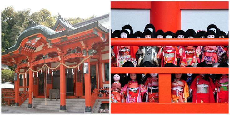 There are various types of Japanese dolls, some representing children and babies, some fairy-tale characters, gods, and demons, and also everyday Japanese