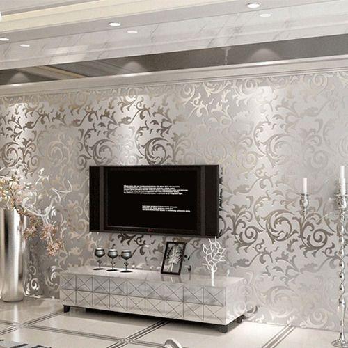 eBay Luxury Damask Embossed Victorian Textured Nonwoven