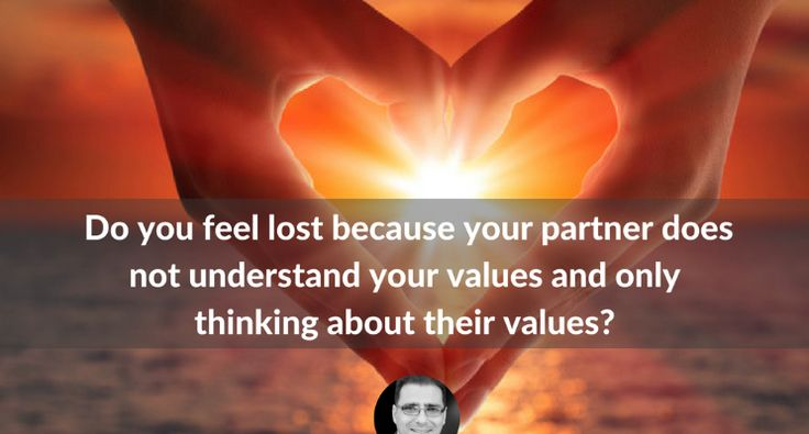 (2) Do you feel lost because your partner does not understand your values and only thinking about their values. By Alan Weiss | LinkedIn