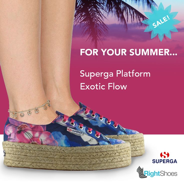 Fantastic discounts are waiting for you on the Superga store! Find your size with Right Shoes! http://www.rightshoes.ch/Shoe/shoe.php?model=S009930&brand=Superga&genre=Women