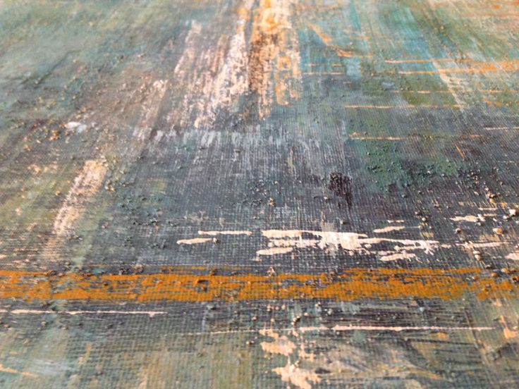 Ali Conway, close up detail 'Ocean Blue'