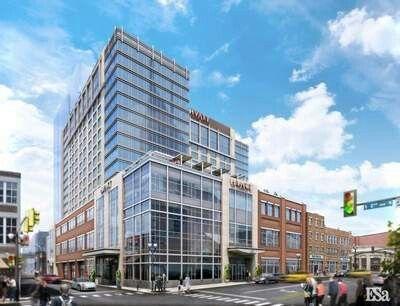 Hyatt to be built- Downtown Nashville