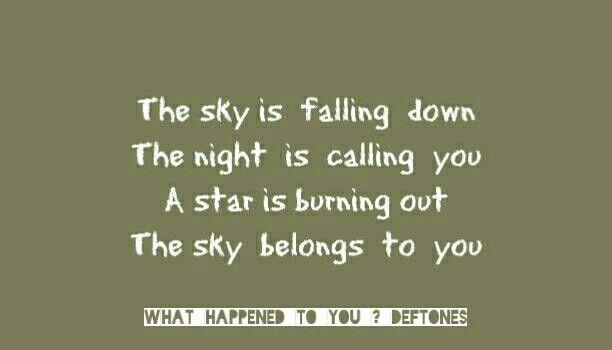 #deftones #lyric #whathappenedtoyou