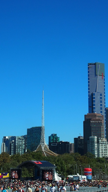 Melbourne - the destination of events and tourism in Australia