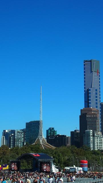 Ellen in Melbourne by Tourism.Victoria, via Flickr
