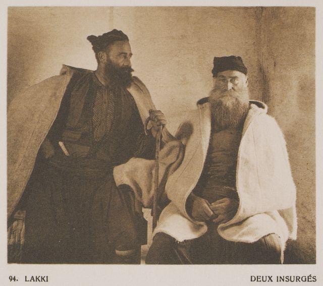 Επαναστάτες από τους Λάκκους της Κρήτης. Lakki. Deux insurgés. 1919  BAUD-BOVY, Daniel, BOISSONNAS, Frédéric. Des Cyclades en Crète au gré du vent, Γενεύη, Boissonnas & Co, 1919.Βιβλιοθήκη Ιδρύματος Αικατερίνης Λασκαρίδη