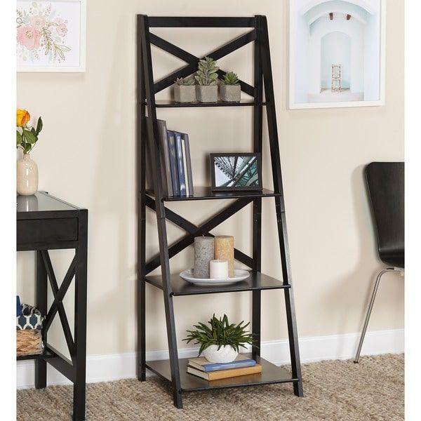 25 Best Ideas About Ladder Shelves On Pinterest Living