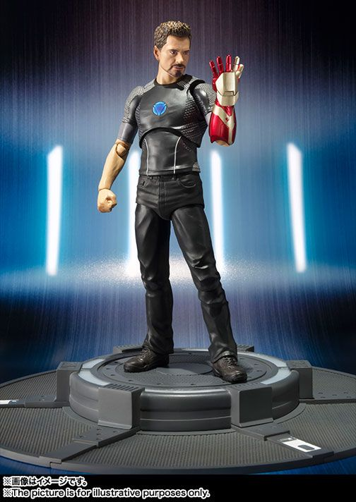 Figuarts Heads Back to the Testing Lab With Tony Stark
