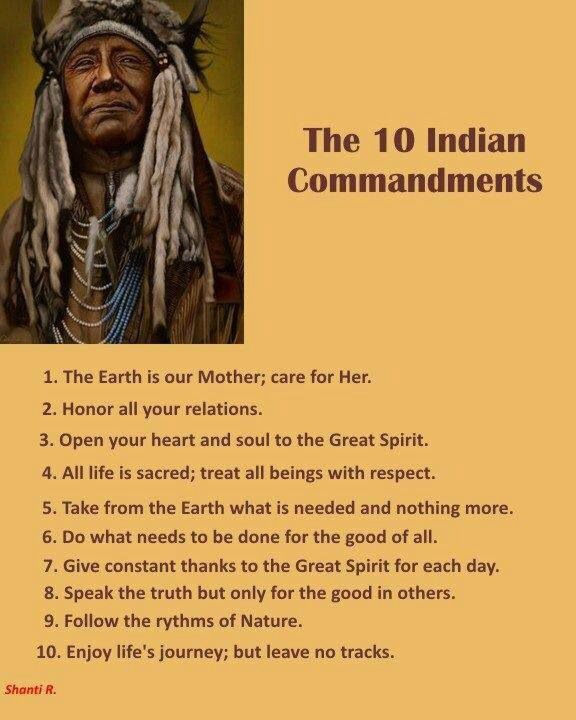 10 Indian Commandments                                                       …