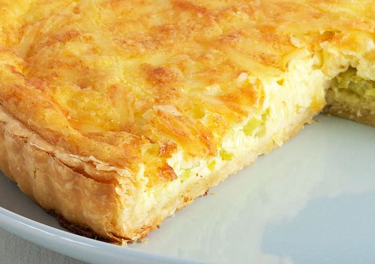 Leek Quiche by Anna Olson                                                                                                                                                                                 Más