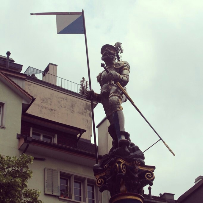 A knight from Zurich
