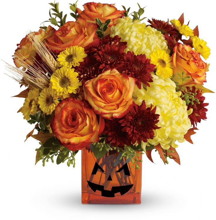 Teleflora s halloween glow bouquet spooky surprise