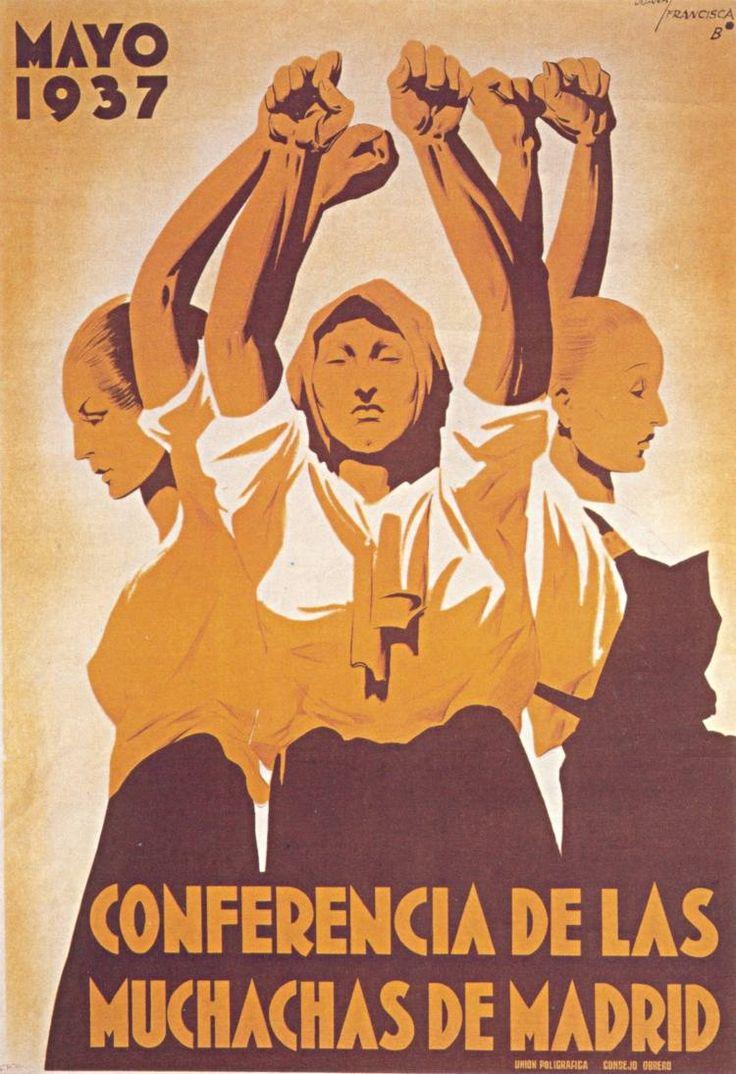 Conferencia de las Muchachas de Madrid :: Mayo 1937