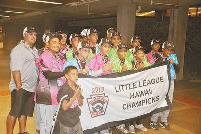 Central Maui Little League All-Stars Claim State Majors