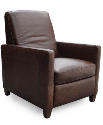Almafi Leather Pushback Recliner Leather Recliner Chair